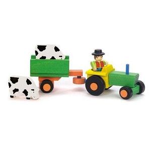 Tracteur et Remorque 4 pièces JEUJURA