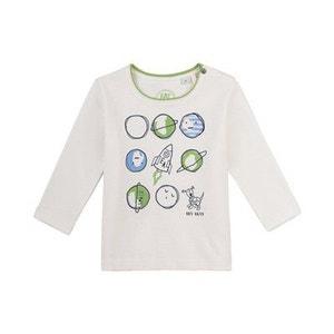 SANETTA Le T-shirt à manches longues «Univers top bébé vêtements bébé SANETTA