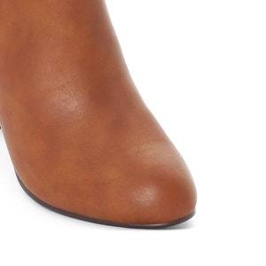 Botines bicolor con tacón, pie ancho, del 38 al 45 CASTALUNA