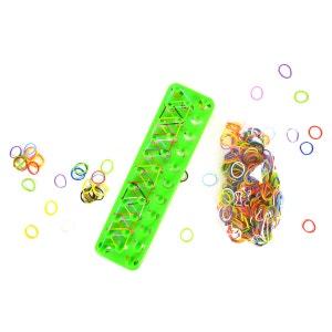 Coffret Création Bracelets Elastiques Métier Tiss Color - Modèle Aléatoire - Livraison à l'unité WONDERKIDS