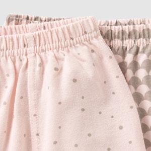 Spodnie niemowlęce baggy (komplet 2 szt.) 0 miesięcy-2 lata La Redoute Collections