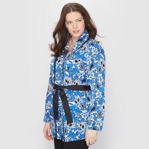 Chaqueta estilo kimono con motivos de flores TAILLISSIME