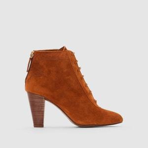 Boots cuir à lacets Devyn HEYRAUD