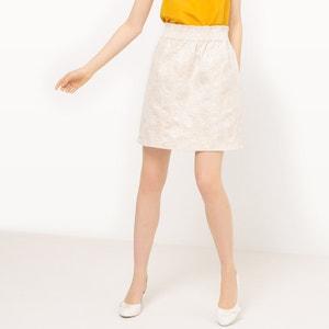 Jacquard Pineapple Print Skirt MADEMOISELLE R