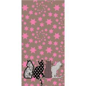 Papier peint intissé étoile et chat LE PAPIERS DE NINON