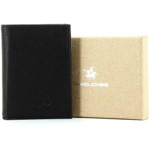 Porte-cartes cuir de vachette DAVID JONES