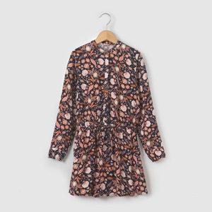 Warm Printed Dress, 3-12 Years abcd'R