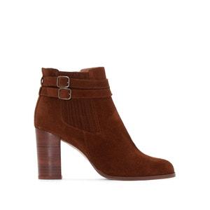 Achida Leather Ankle Boots JONAK