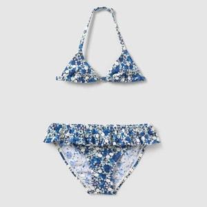 Printed Triangle Bikini, 3-12 Years abcd'R