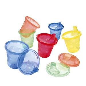 NÛBY Lot de gobelets Nuby? avec couvercle vaisselle bébé NUBY