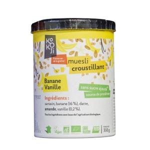 Granola Cru Banane-Vanille KOKOJI