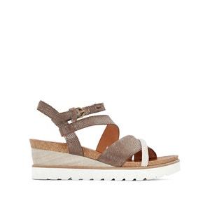 Sandales cuir compensées Tapas MJUS