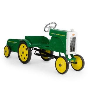 Tracteur à pédales et sa remorque BAGHERA