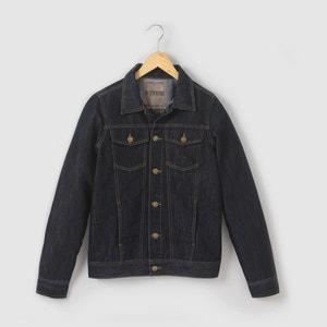 Cotton Blend Denim Jacket, 10-16 Years R pop