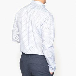 Koszula slim w paski i groszki, 100% bawełny La Redoute Collections