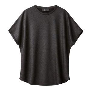 Tee-shirt brillant, effet enduit La Redoute Collections