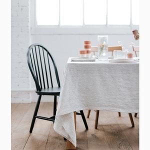 Gestreifte Tischdecke aus gewaschenem Leinen HELLO BLOGZINE X LA REDOUTE