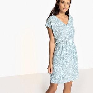 Kurzes, gerades Kleid, kurze Ärmel SUD EXPRESS