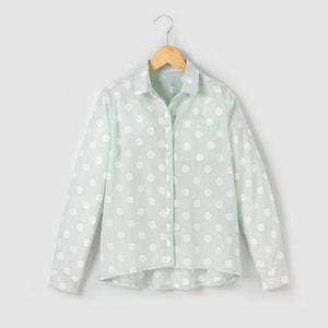 Blusa con estampado de lunares 10-16 años R pop