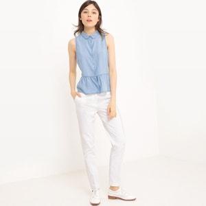 Denim Slim Fit Shirt MADEMOISELLE R