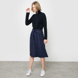 Skirt Printed with Mock Polka Dots R studio