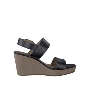 Sandales cuir à talon compensé 28337-28 TAMARIS