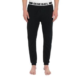 Bas de Pyjama Noir Logo Diesel Julio pour homme DIESEL