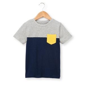 T-shirt bicolore 3-12 ans R essentiel