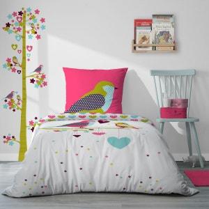 Sticker toise arbre et oiseaux Printemps SELENE ET GAIA