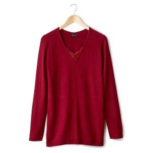 Pull tunica con collo a V in maglia sottile LES PETITS PRIX