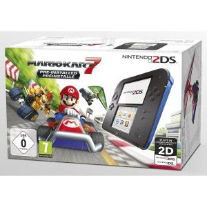 Console NINTENDO 2DS Noire/Bleue + Mario Kart 7 NINTENDO