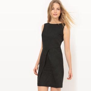 Lniana sukienka bez rękawów R essentiel
