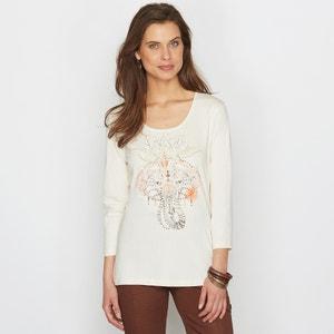 Camiseta estampada ANNE WEYBURN
