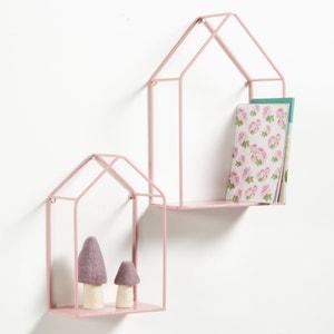 Półki ścienne, domek, Sonale (zestaw 2 szt.) La Redoute Interieurs