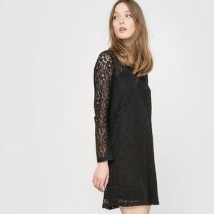Long-Sleeved Embroidered Dress LE TEMPS DES CERISES