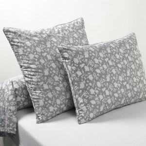 Céleste Printed Percale Single Pillowcase La Redoute Interieurs