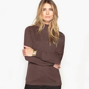 Пуловер со стоячим воротником, 50% шерсти мериноса ANNE WEYBURN