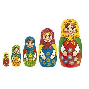 Baboushka Poupées russes à peindre OZ INTERNATIONAL