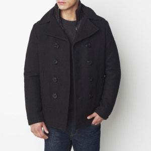 Caban mi-long en laine, plein hiver SCHOTT