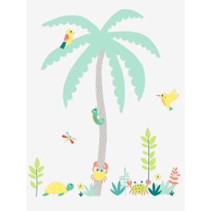 Sticker géant enfant île palmier VERTBAUDET