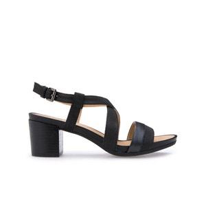 Sandalen in leer, D Symi B GEOX