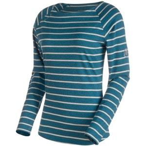 Wall - T-shirt manches longues - bleu MAMMUT
