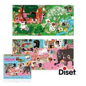 Mouk - 2 Story Puzzles 28 pièces - DIS41024 DISET
