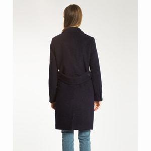 Długi płaszcz z wełny i bawełny LEVI'S