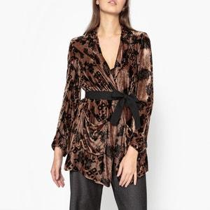 Vavo Printed Velvet Jacket DIEGA