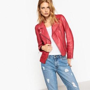 La redoute veste femme rouge
