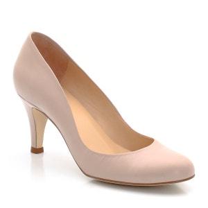 Sapatos com tacão, em pele JONAK