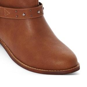 Botines estilo motero, pie ancho, del 38 al 45 CASTALUNA