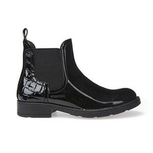 Gelakte chelsea boots J Sofia A GEOX
