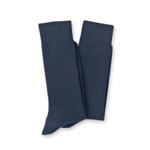 Lot de 2 paires de mi-chaussettes, laine majoritaire THERMOVITEX